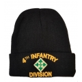 ARMY 4TH INFANTRY DIVISION BEANIE HAT