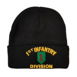 1ST INFANTRY DIVISION ( BIG RED 1 ) BEANIE HAT