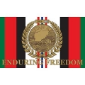 OEF ENDURING FREEDOM FLAG (3FTX5FT)