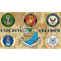 ENDURING FREEDOM - ALL BROTHERS FLAG (3FT X 5FT)