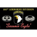 ARMY 101ST Airborne , EAGLE (3ftx5ft) FLAG