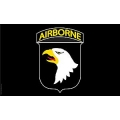 ARMY 101ST AIRBORNE  (3ftx5ft) FLAG