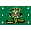 ARMY SERVED WITH PRIDE (3ftx5ft) FLAG