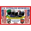 U.S.VETS , MEMORIAL (3ftx5ft) FLAG