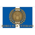 KOREA WAR VETERANS FLAG (3FTX5FT)