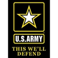 "BANNER- U.S.ARMY (29""X42-1/2"")"