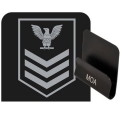 Navy Petty Officer First Class Rank HAT CLIP