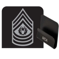 Army Command Sergeant Major Rank HAT CLIP