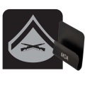 Marines Lance Corporal Rank HAT CLIP
