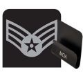 Air Force Senior Airman Rank HAT CLIP