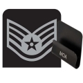 Air Force Staff Sergeant Rank HAT CLIP