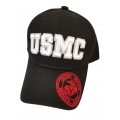 USMC HAT WITH EGA EMBROIDERED BILL