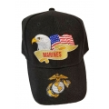 MARINE HAT WITH EAGLE