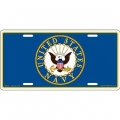 Navy License Plates / Frames