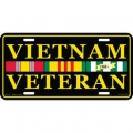 LICENSE PLATE - VIETNAM VETERAN