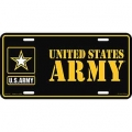 US Army License Plate