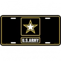 LICENSE PLATE - ARMY