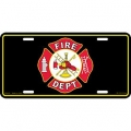LICENSE PLATE - FIRE DEPARTMENT