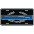 LICENSE PLATE - ARMY CIB , 1ST AWARD