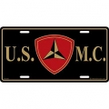 LICENSE PLATE - 3RD MARINE DIV