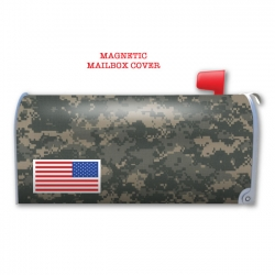 DIGITAL CAMO MAGNETIC MAILBOX COVER