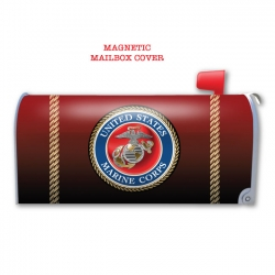 MARINE CORPS MAGNETIC MAILBOX COVER
