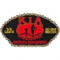 "PATCH-KIA, HAT (2-3/4""X5-1/4"")- WITH THE OPTION TO ADD TO A HAT"