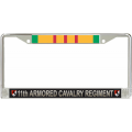 11TH ARMORED CAVALRY VIETNAM LICENSE FRAME