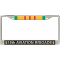 18TH AVIATION BRIGADE VIETNAM LICENSE FRAME