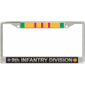 9TH INFANTRY VIETNAM LICENSE FRAME