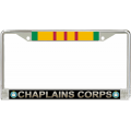 ARMY CHAPLAIN CORPS VIETNAM LICENSE FRAME
