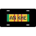 An Khe Vietnam License Plate