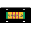 Ashau Valley Vietnam License Plate