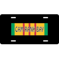 Cam Ranh Bay Vietnam License Plate