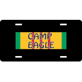 Camp Eagle Vietnam License Plate