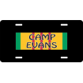 Camp Evans Vietnam License Plate