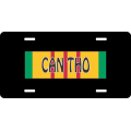Can Tho Vietnam License Plate