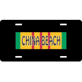 China Beach Vietnam License Plate