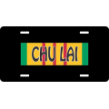 Chu Lai Vietnam License Plate