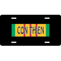 Con Thien Vietnam License Plate