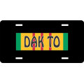 Dak To Vietnam License Plate