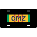 DMZ Vietnam License Plate