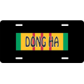 Dong Ha Vietnam License Plate