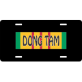 Dong Tam Vietnam License Plate