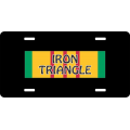 Iron Triangle Vietnam License Plate