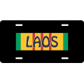 LAOS Vietnam License Plate