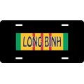 Long Binh Vietnam License Plate