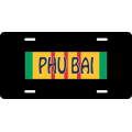 Phu Bai Vietnam License Plate