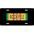 Rock Pile Vietnam License Plate