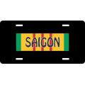 Saigon Vietnam License Plate